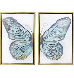 MKD 2panel Butterfly Blue