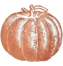 Pumpkin Paper Placemats