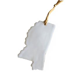 MS Ornament White