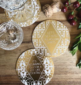 Holiday Coasters Set/12
