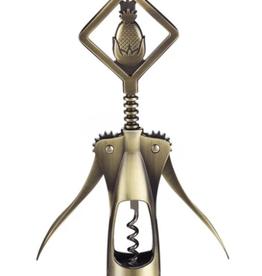 Gold Pineapple Corkscrew