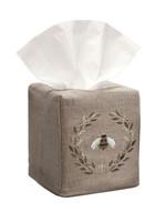 Napoleon Bee Beige Tissue Box Cover