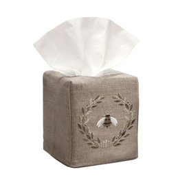 Napoleon Bee Beige Tissue Box Cover