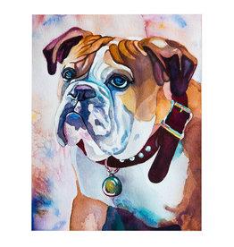 Bulldog Print 11x14