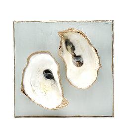 Oyster Art 6x6 Light Blue