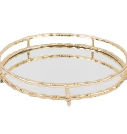 Mirror Bamboo Tray