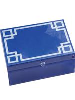 Greek Key Jewelry Box