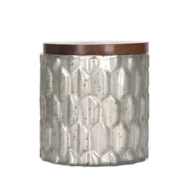 Grey Textured Candle Sweet Grace 035
