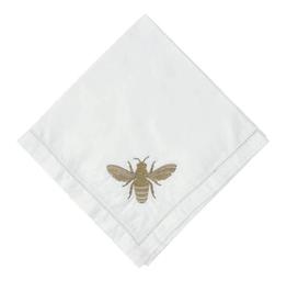 Bee Embroidery Napkin