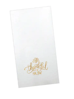 Thankful Paper Guest Towel