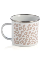 Leopard Enamel Mug