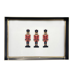 Nutcracker Enamel Tray