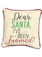 I've Been Framed Pillow 10x10