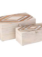 Tribeca Wood Aluminum Box
