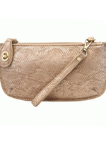 Lux Crossbdy Wristlet Clutch