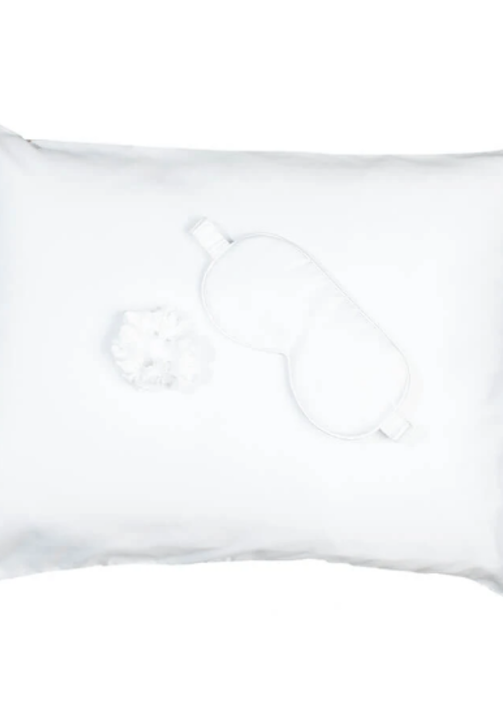 Goodnight Gorgeous Satin Sleep Set White