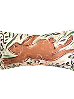 Running Rabbit Lumbar Pillow