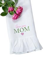 Love You Mom Linen Towel