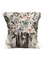 Potted Flowers Pillow Gospel Art