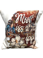 MS Blues Pillow