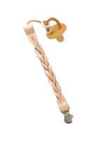 Boho Leather Paci Clip