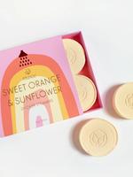 Sweet Orange & Sunflower Shower Steamers