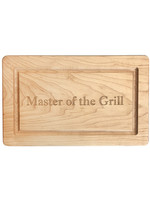 Maple Rectangle Board Master of the Grill