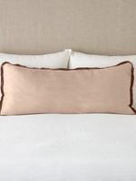 Paloma Lumbar Throw Pillow  Rouge