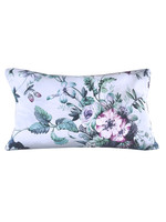 Fleur Accent Throw Pillow Cool