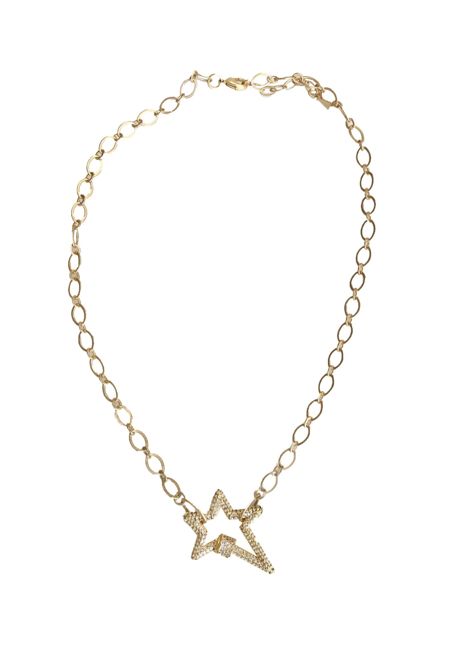 Pave Star Kitzi Necklace