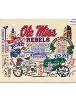 Ole Miss Art Print 8x10