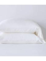 Madera King Pillowcases Winter White