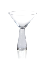 Livogno Martini Glass on Hammered Stem