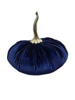 Navy Velvet Pumpkin XL