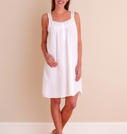 Joy Ladies Sleeveless Nightie with Lace Straps