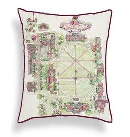 Adam Trest Home Collegiate Throw Pillow