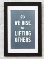 Old Try We Rise Print