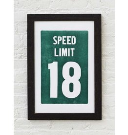 Old Try Speed Limit Print