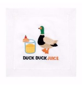Duck duck juice cocktail napkins