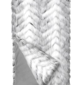 Crystal Fox Throw Blanket 60x60