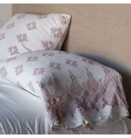 Olivia embellished standard pillowcase
