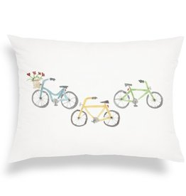 Finch & Poppy Transportation Throw Pillow
