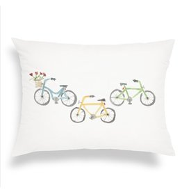 Finch & Poppy Transportation Throw Pillow