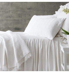 Wilton White Twin Bedspread