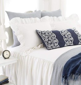 Wilton White Cotton Euro Sham