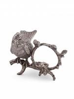 Pewter Song Bird Napkin Ring