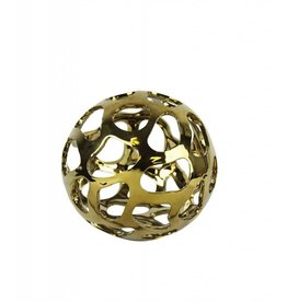 Ceramic Gold Orb