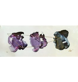 """Sapphire"" Beth Winterburn Print 20"" x 8"""