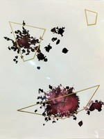 """Geometric"" Beth Winterburn Print 8"" x 8"""