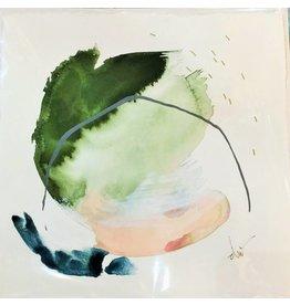 """Emerald"" Beth Winterburn Print 9"" x 9"""